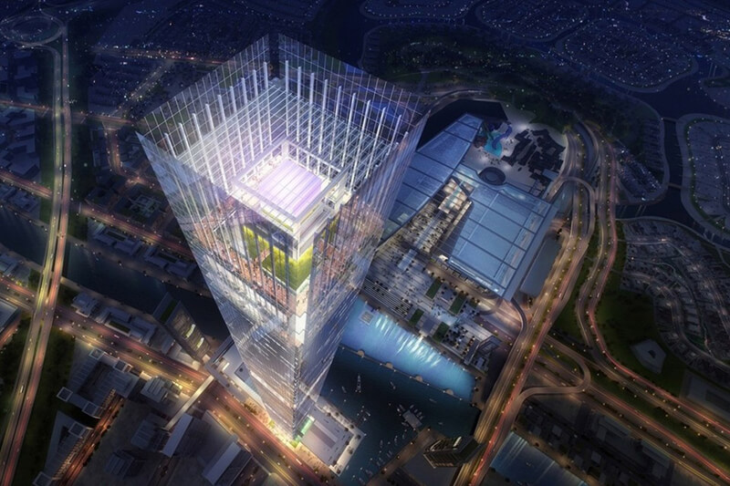 Forthcoming Dubai Complex From Meydan Developer 1