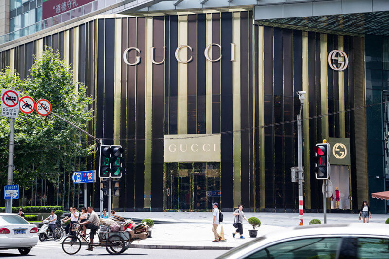 Gucci Opened Its First Restaurant in Shanghai