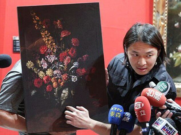 Kid Trips in Museum and Breaks Fall on Old Painting Worth $1.5 million