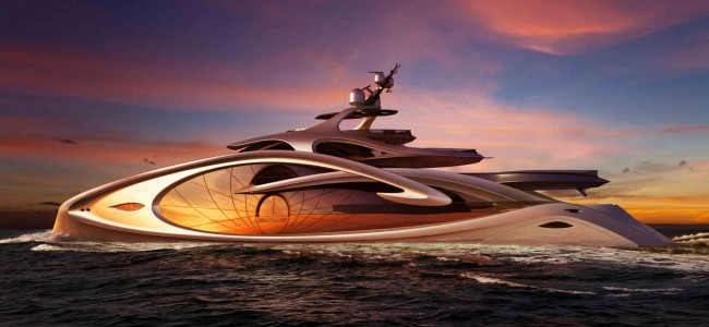 Check Out the Design of Nouveau Superyacht Concept by Andy Waugh