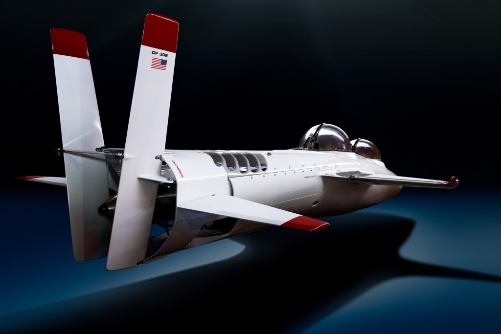 The Deepflight Super Falcon Mark II Submarine is a Underwater Fighter Jet