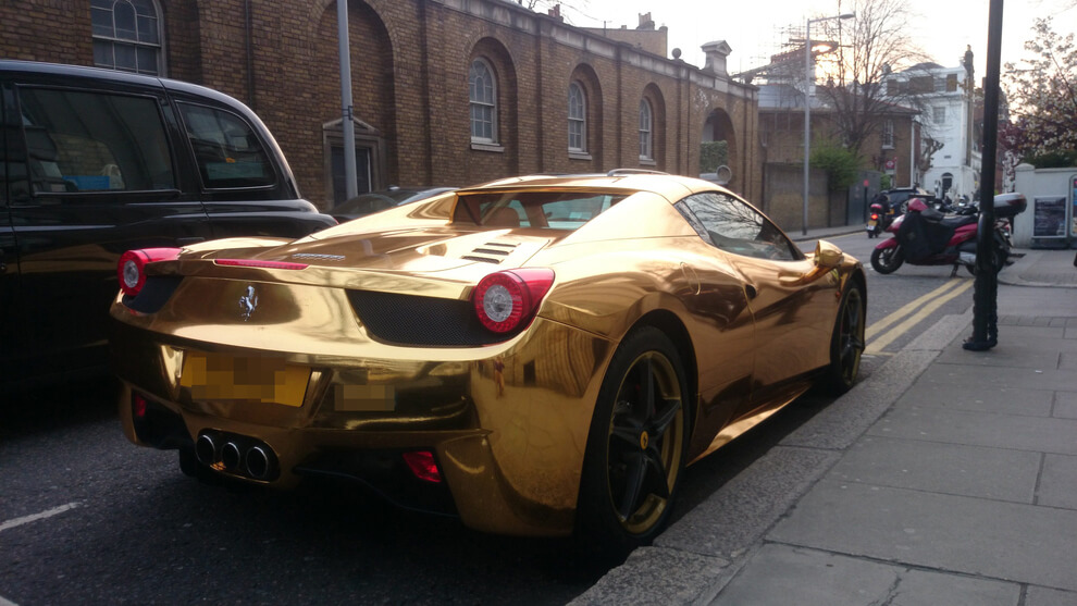 when ferrari lamborghini expect price attending eyecarwall things com car in gold to india seven golden