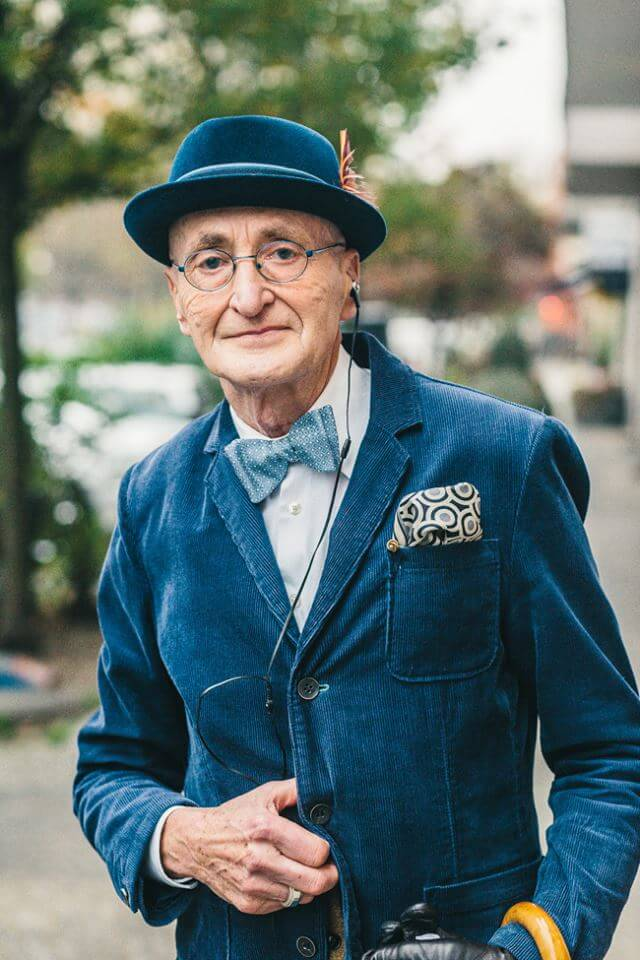 This 70 Year Old Hipster Grandpa Dresses Better than You