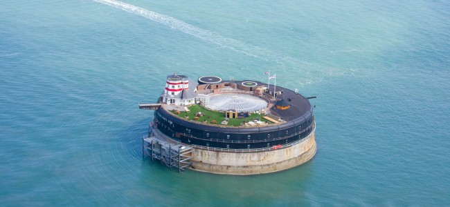 This Ex-British Sea Fort Was Transformed into Luxury Resort Called No Man's Land