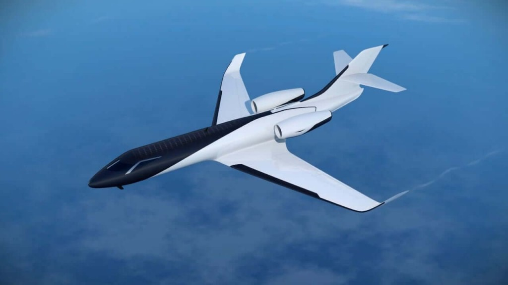 This Windowless Private Jet Could Be the Future of Aircrafts