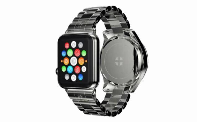 You Don't Have To Choose Anymore! This Luxury Watch Features Extra Apple Watch!