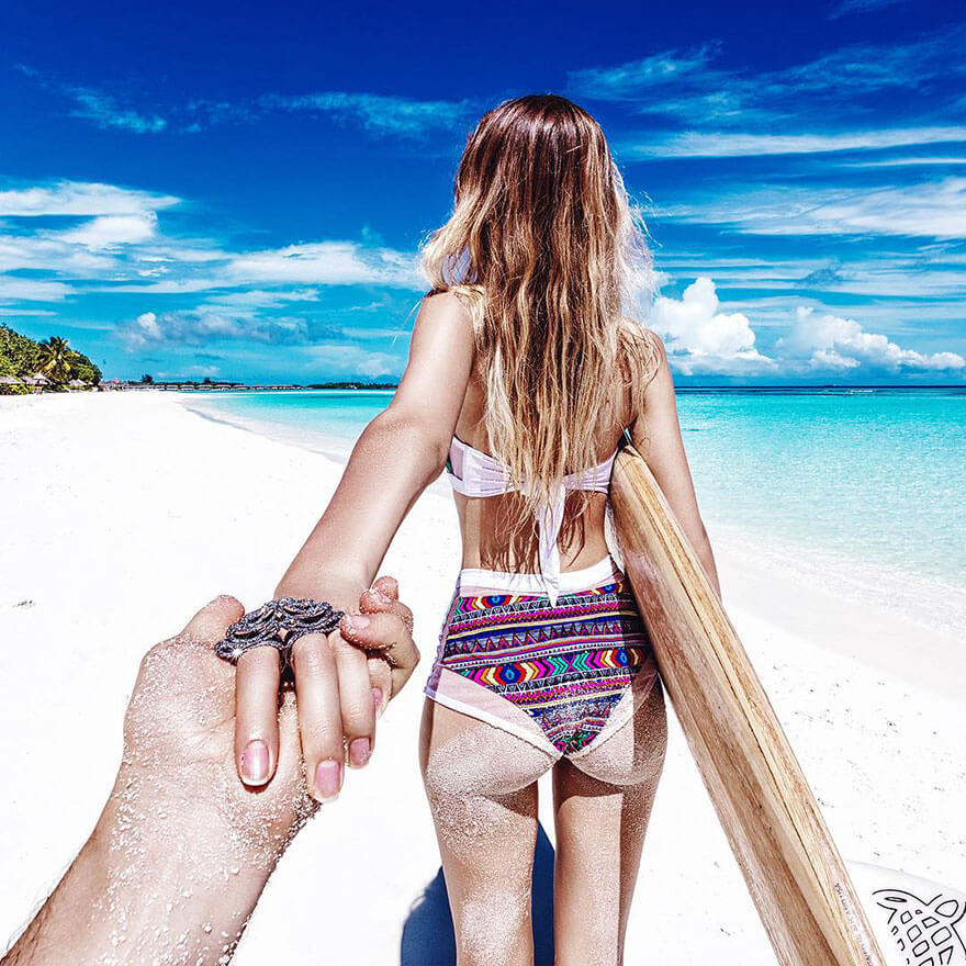 You Must See The #FollowMeTo Couple's Honeymoon Photos