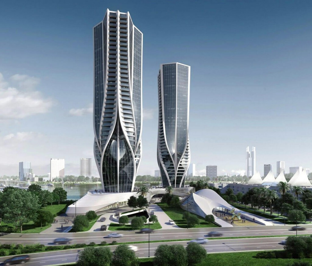 Zaha Hadid Designs Two Residential Towers for Australia