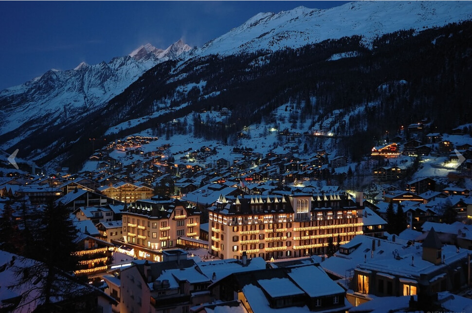 15. Zermatt, Switzerland || These 20 Photos of Winter Towns Will Make You Love Snow Even More