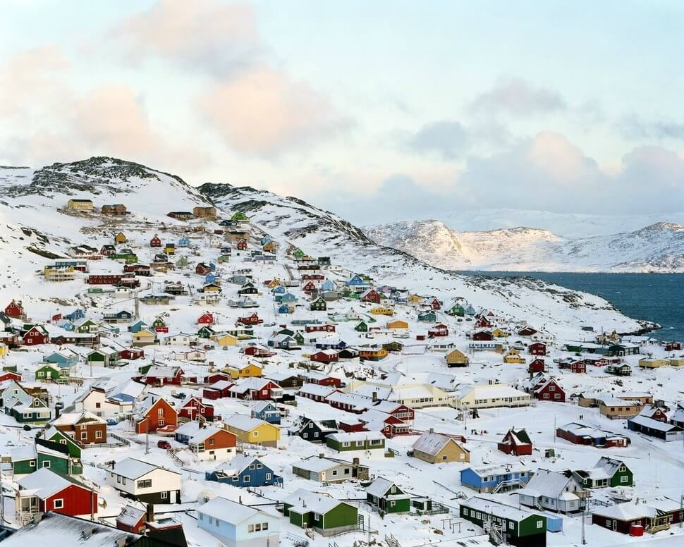 16. Qaqortoq, Greenland    These 20 Photos of Winter Towns Will Make You Love Snow Even More