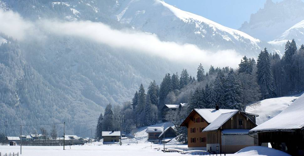 19. Engelberg, Switzerland    These 20 Photos of Winter Towns Will Make You Love Snow Even More