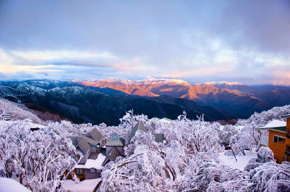 2. Mt. Buller, Australia    These 20 Photos of Winter Towns Will Make You Love Snow Even More
