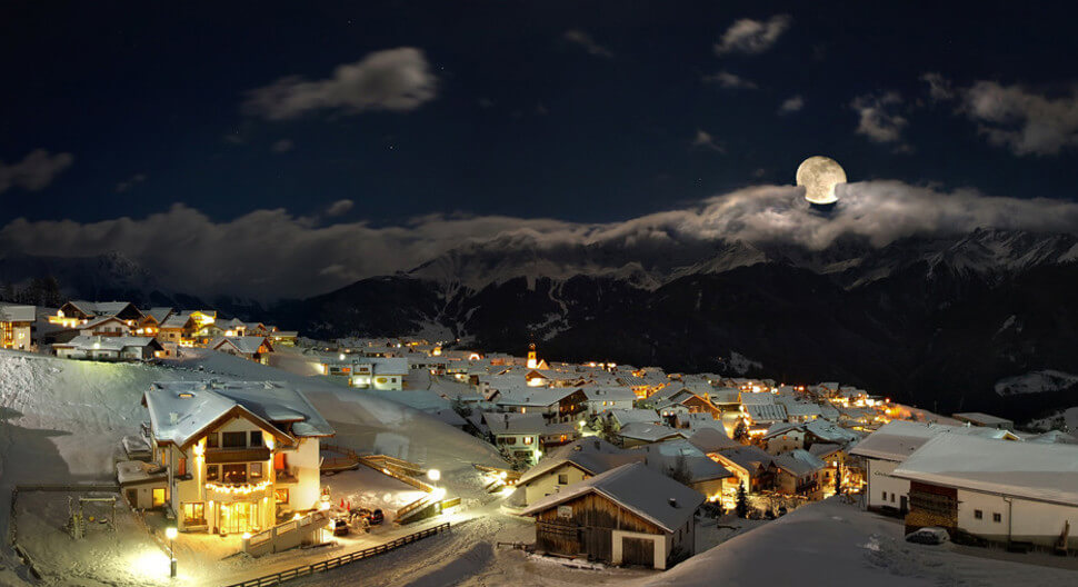 8. Serfaus, Austria || These 20 Photos of Winter Towns Will Make You Love Snow Even More