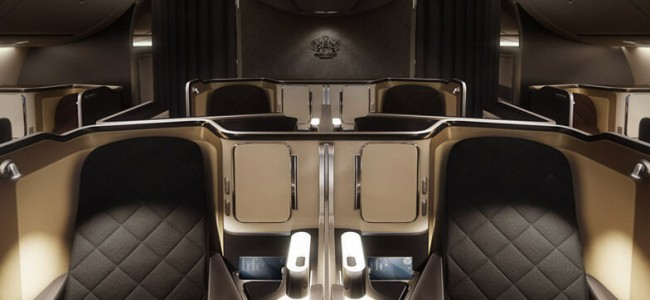 Inside the New High-Tech First-Class Cabin from British Airlines