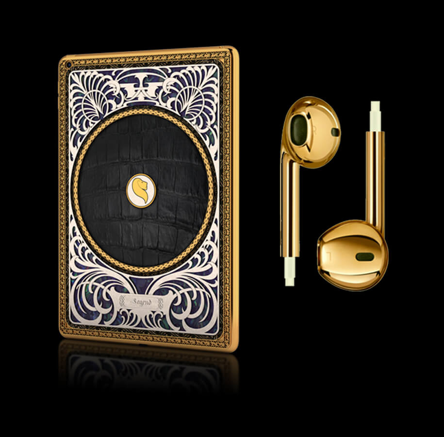 Check out the Collection of Bespoke Apple Products Dipped in Gold By Legend