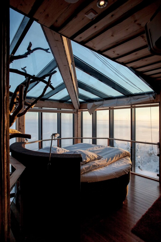 Check out this Ski Resort in Finland Called the Eagles View Suite
