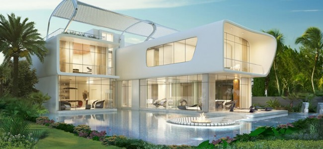 Dubai Villas ETTORE 971 Are a Tribute To Bugatti