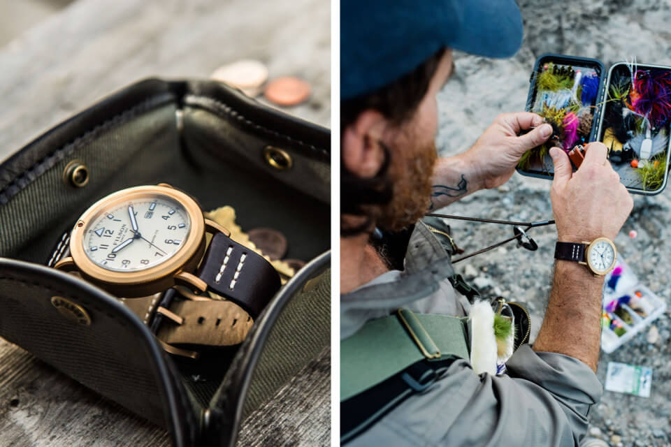 Filson's New Scout Collection Got Their Inspiration from WWII Aviator Watches