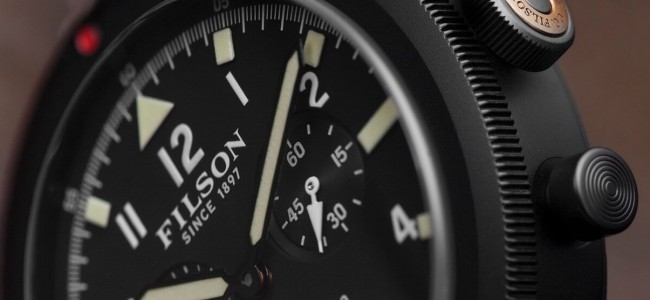 Inspired by WWII Aviator Watches Filson's New Scout Collection Will Break Records