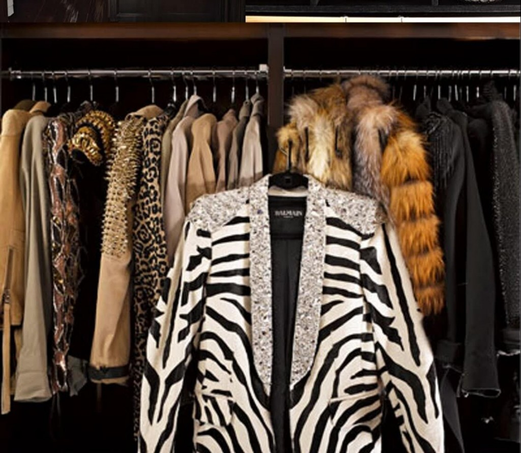 Here is How the Inside of Kim Kardashian's Closet Looks Like
