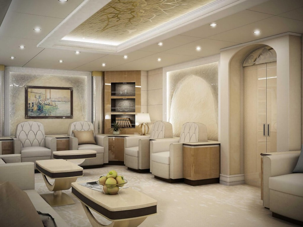 Inside the 367 million jet that will soon be called air for 4 inside schlafsofa