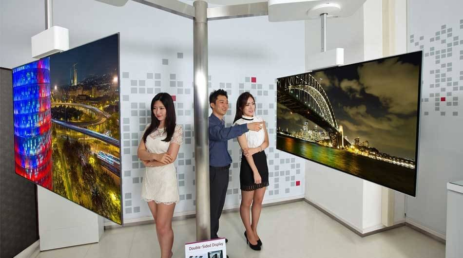 LG's Double-Sided TV Could Be the Future of Television