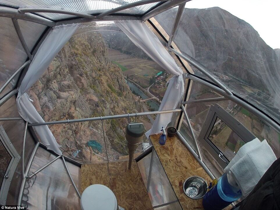Sleep like a Condor in Skylodge Adventure Suite Nest 1200ft Above Ground