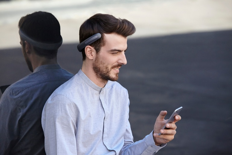 The Batband Headphones Vibrates Music Directly Into your Skull