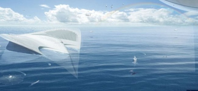 The Meriens Vessel Shaped like a Giant Manta Ray Could be The Future of Luxury Cruise Ships and Floating Cities (3)
