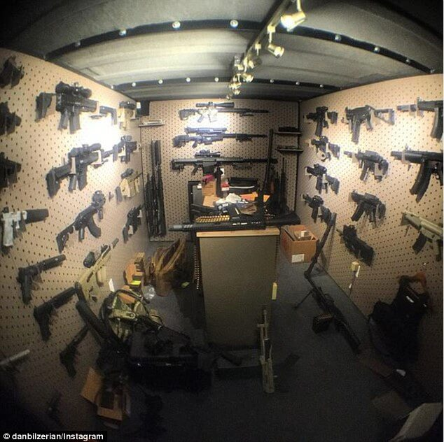 Thieves Broke into Dan Bilzerian's Mansion but Stole Nothing