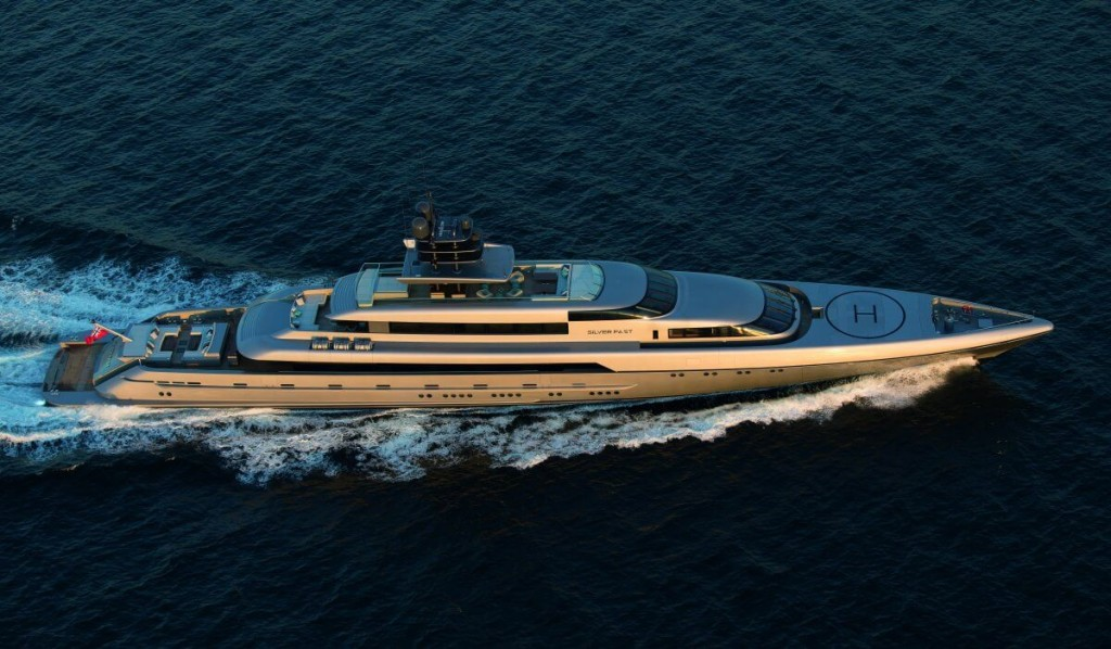 This £57 million Eco-Friendly Yacht Can Travel From Australia to Europe with 1 Fuel Stop