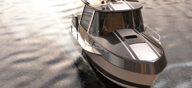 "The Mini of the Yacht World – 28"" Modern Vintage Yacht Features the Space of a 33"" Yacht"