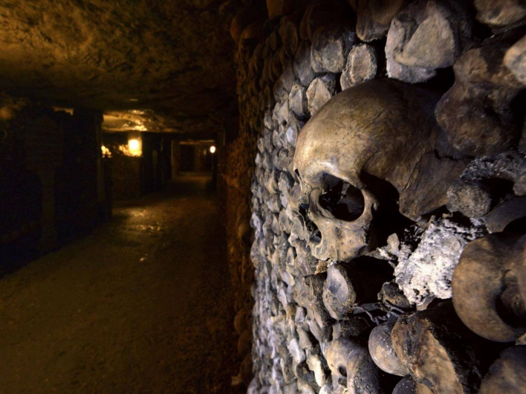 Airbnb Hosts a Special Halloween Night in Paris Catacombs
