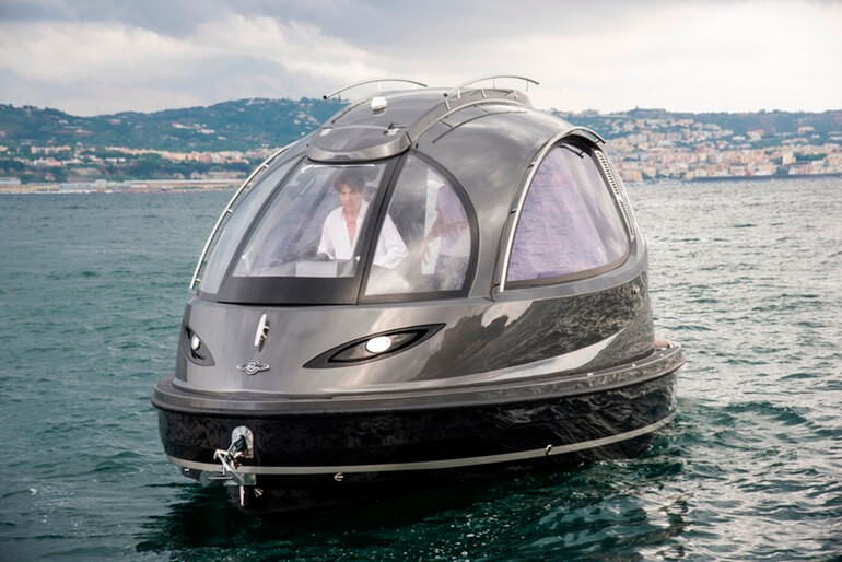 For $150,000 You Can Own the Launch Version of Jet Capsule