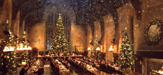 Harry Potter Fans are invited for the First Christmas Feast at Hogwarts' Great Hall