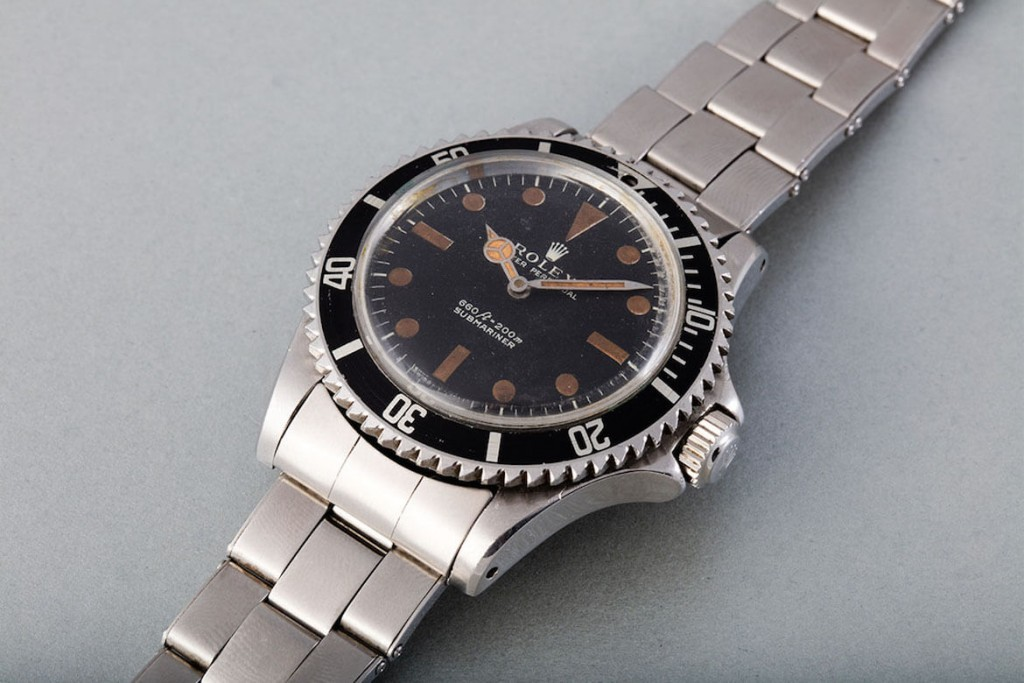 James Bond's Rolex Submariner Will be auctioned in Geneva