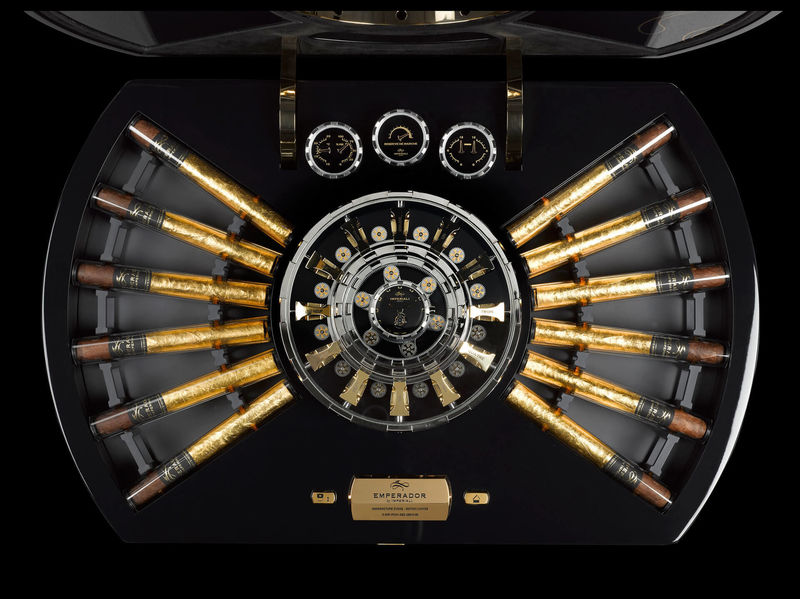 Millon Dollar Humidor with Built-in Tourbillon (2)