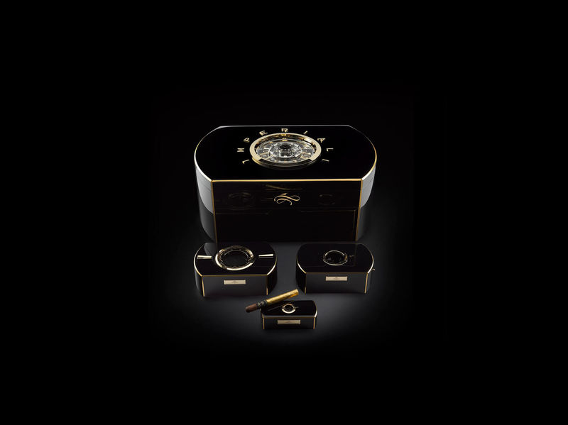 Millon Dollar Humidor with Built-in Tourbillon (5)