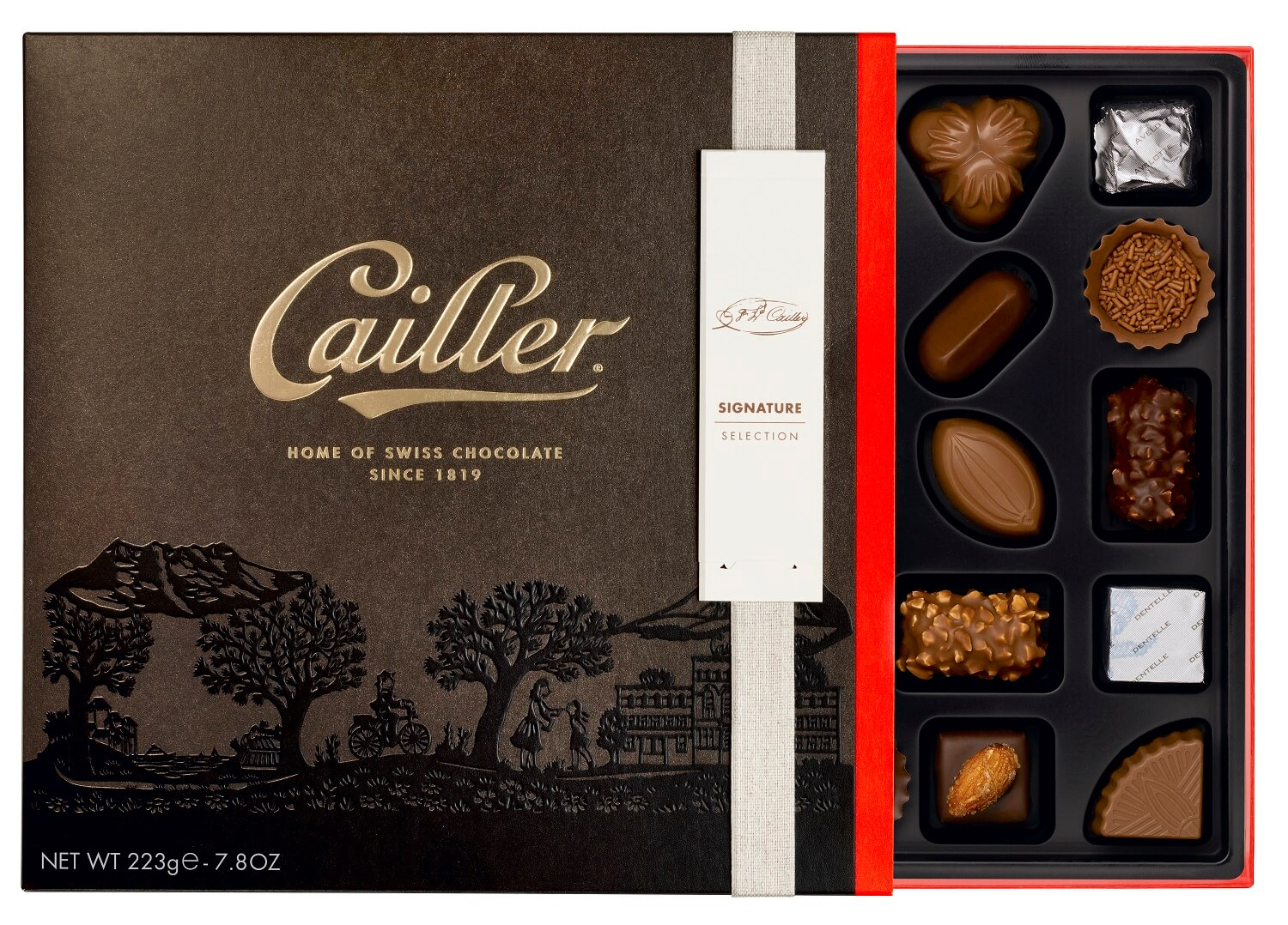 Nestlé's First Super-Premium Chocolate: Maison Cailler