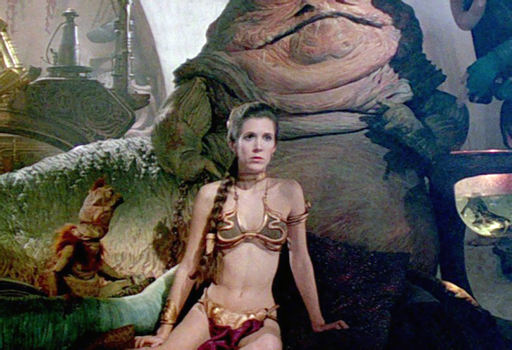 Princess Leia's Gold Bikini Sold for $96,000 At Online Auction