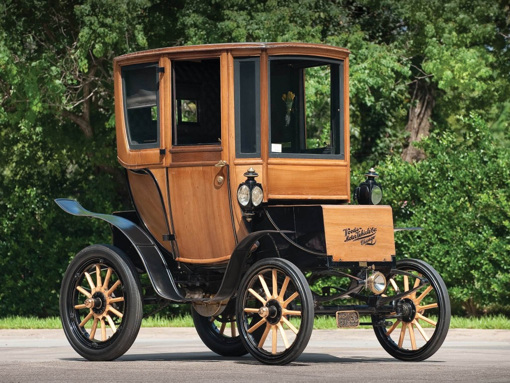 The 110 Year Old Electric Car Sells for $95,000
