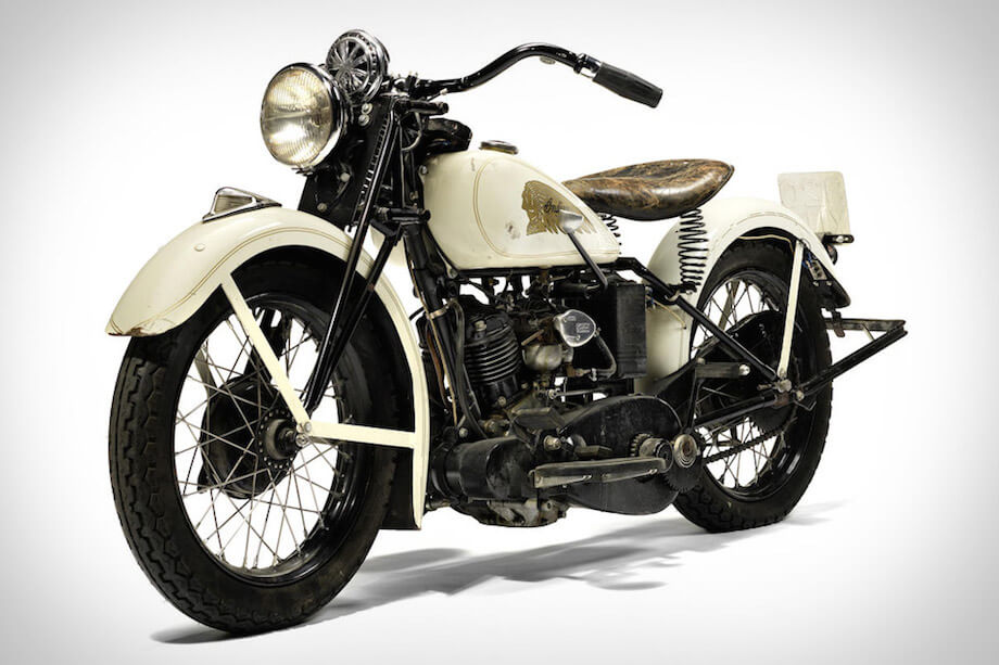The 1934 Indian Sport S Motorcycle Owned by Steven McQueen sold at Auction