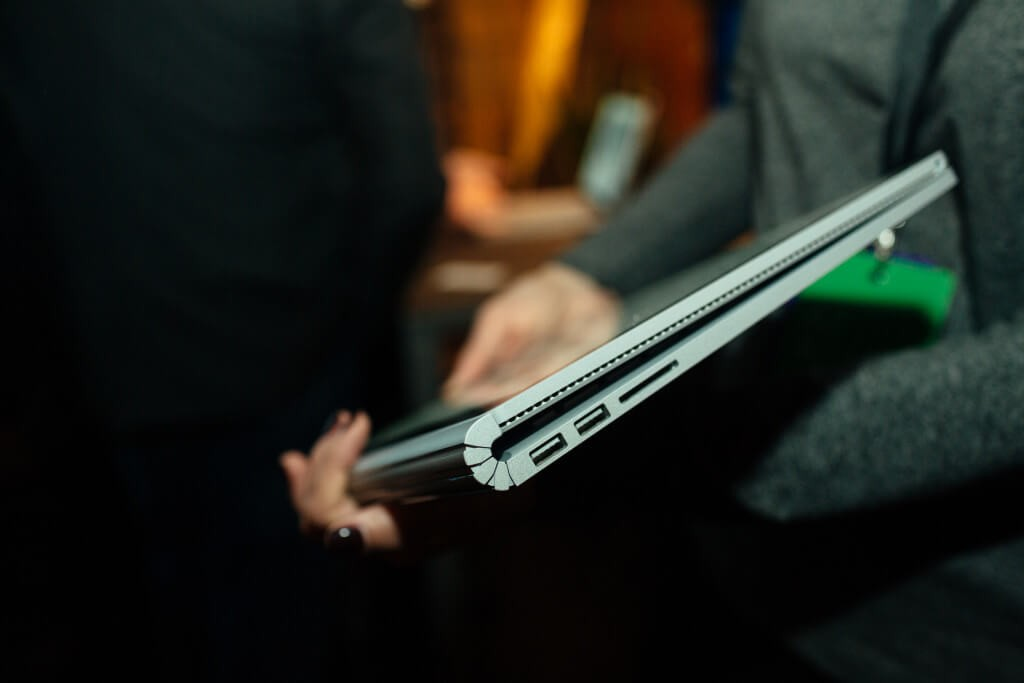 The Microsoft's Surface Book Laptop is Quite Cool