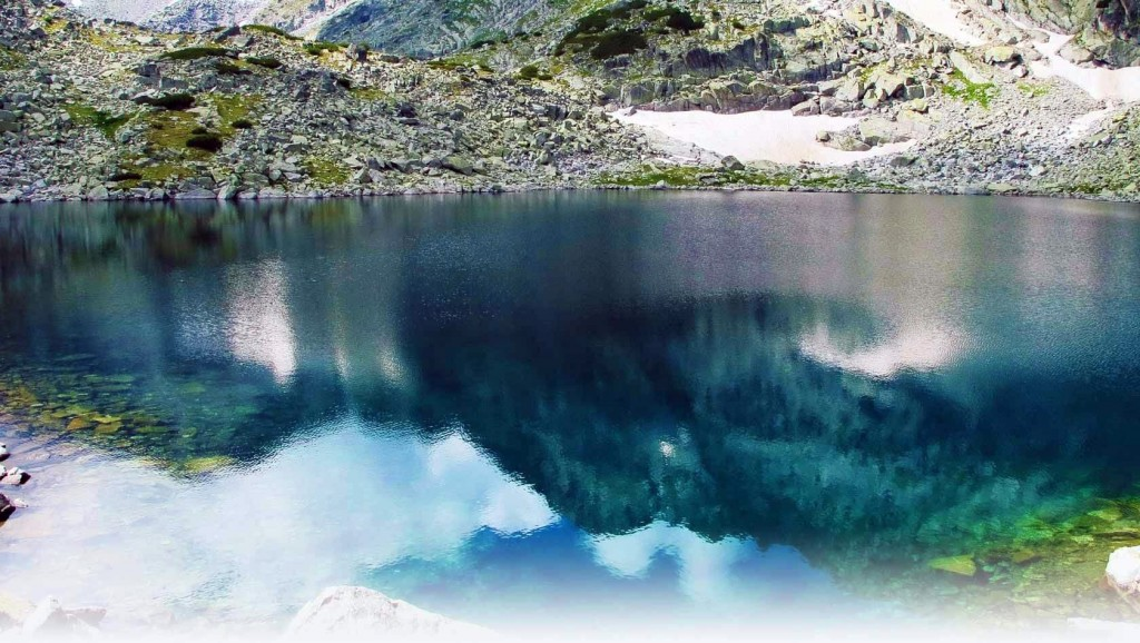 Crystal Lake in National Park of Rila Mountains visit bulgaria photos
