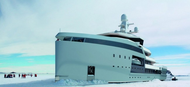 This 328-foot Mega-Yacht Can Break The Arctic Ice