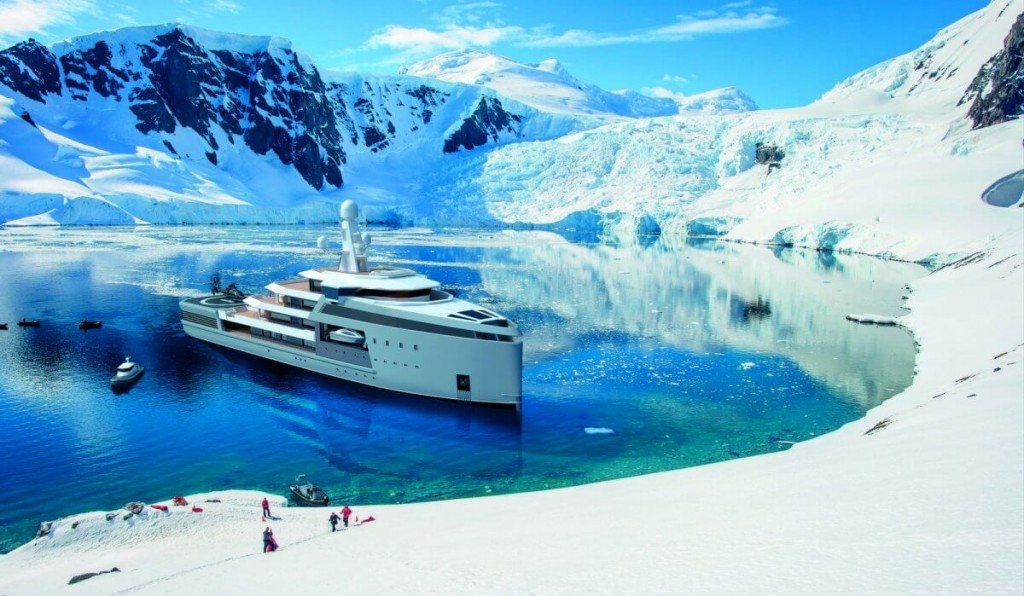 This $150m Damen SeaXplorer Mega Expedition Yacht Can Break the Ice