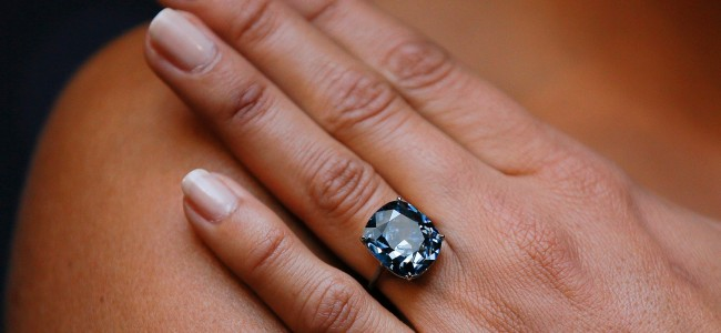 Could this Blue Diamond Become the Most Expensive in the World?