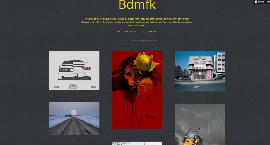 15 Questions with bdmfk Tumblr Blogger Remus