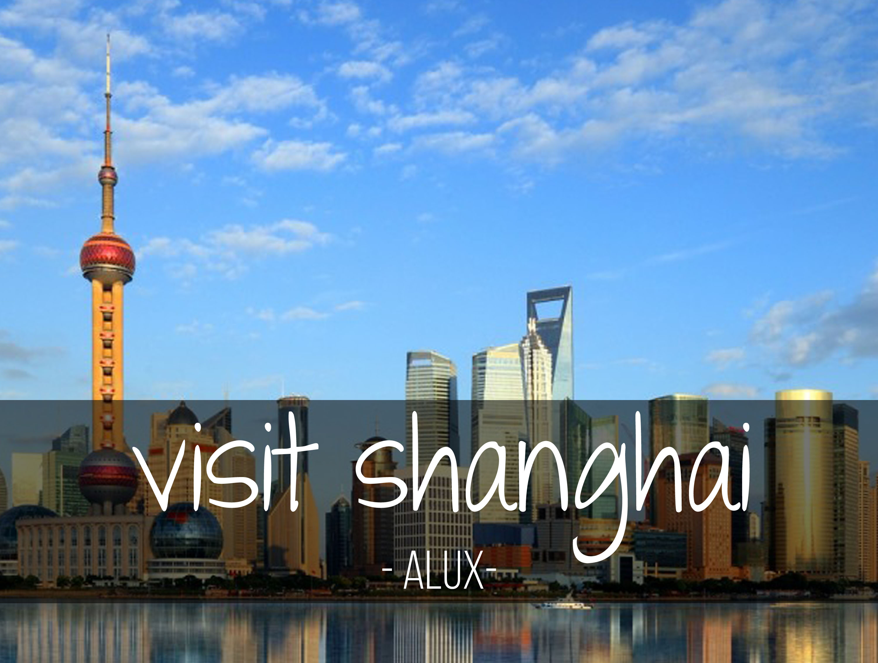 bucket list shanghai