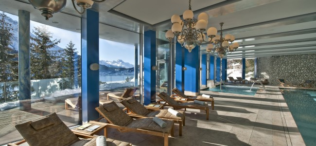 The Carlton St. Moritz Hotel in Switzerland is Every Aluxers Dream